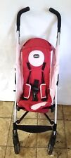 Chicco Liteway Plus Baby Convertible Stroller, MISSNG Canopy (Red/Pink) USED GC