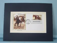 Honoring the Great Race Horse - Seabiscuit & the First Day Cover of his stamp
