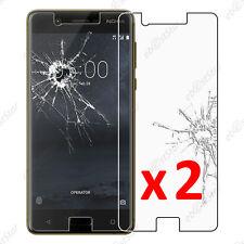 Lot 2 Film protection écran VERRE Trempé Vitre anti casse Nokia 5