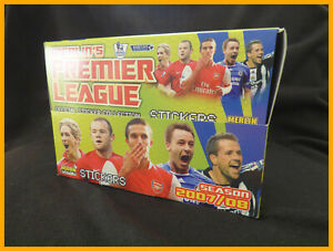 Merlin FA Premier League 08 2008 Box of 100 Sealed Packets of Stickers