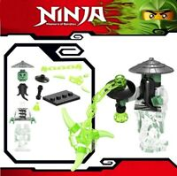 Ninjago Sensei Yang Ninja Masters of Spinjitzu Samurai Custom Lego Mini Figure