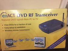 RICETRASMETTITORE RF promulgare DVD DVD di trasmissione segnali da PC a TV VINTAGE