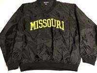 Vintage 90s University Of Missouri Tigers Pullover Windbreaker Size L
