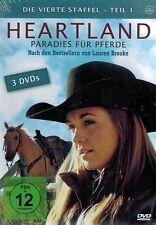 DVD - Heartland - Paradies für Pferde - Die vierte Steffel (Staffel 4) - Teil 1