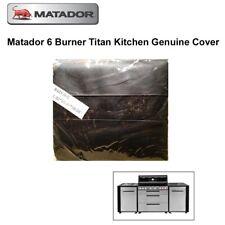 Matador Genuine Heavy Duty BBQ Cover for Matador 6 Burner Titan Kitchen BBQ
