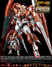 RG Double Oh Gundam Seven Sword / G Inspection 1/144 Bandai Gunpla From Japan
