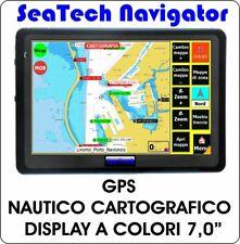 """NAVIGATORE GPS NAUTICO CARTOGRAFICO - DISPLAY 7,0"""" (completo di Cartografia)"""