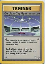 Pokemon Gym Heroes Uncommon Card #108/132 Cerulean City Gym