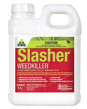 Slasher 1L - Registered Organic Herbicide - Controls Weeds, Moss & Algae