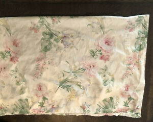 3 Vintage Floral RALPH LAUREN Queen Theresa Therese Flat Sheet Pillowcases