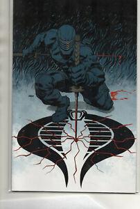 G.I. JOE #3 RARE Snake Eyes RI Virgin VARIANT 2009