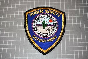 Cabazon Band Of Mission Indians California Public Safety Department Patch (B11)