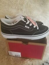 Vans bearcat Black white suede fabric  Shoes mens/youth size 5 woman size 7