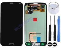 ECRAN LCD + VITRE TACTILE ASSEMBLE COMPLET POUR SAMSUNG GALAXY S5 SM-G900F NOIR
