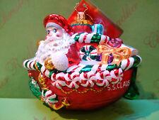 Christopher Radko S S Claus Glass Ornament