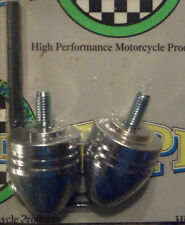 Yamaha FJR1300 Chrome Bar Ends 2007 2008 2009 2010 2011 2012 2013 2014 2015 2016