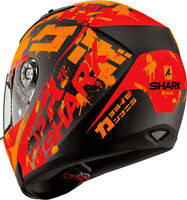 NEU SHARK Helm Ridill Kengal orange matt  S = 55/56 Motorradhelm Sonnenblende