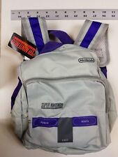 Super Nintendo Console BackPack Bag  - NEW! CultureFly collector's box SNES NES