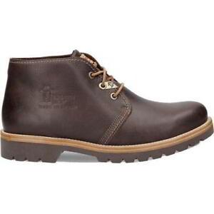 Panama Jack Bota Panama C18 Mens Waterproof Leather Chukka Ankle Boots Size 8-13