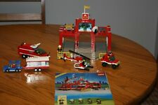 Vintage 1990 Lego Land Town System Classic Fire Control Center w Instructions