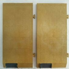"""POLA G SCALE 2 EACH LARGE OPEN PLATFORM SECTIONS with STEPS - 16 3/4"""" x 7 3/4"""""""