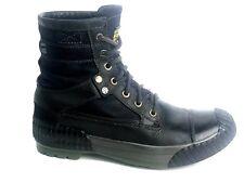 G STAR RAW Sherpa Marker Mix Men's Black Ankle Boots Size: US. 7 EU. 40 UK. 6