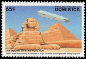 """DOMINICA 1570 - Hugo Eckener """"Graf Zeppelin over Egypt"""" (pa12282)"""