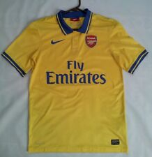 "NIKE DRI-FIT ARSENAL LONDON ""THE GUNNERS"" AUTHENTIC  SOCCER JERSEY IN SIZE S"