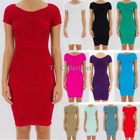 New Sexy Fashion Women's Short Sleeve Mini Dress Ladies Casual Party Dress/Club