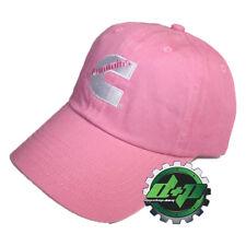 Dodge Cummins diesel lady trucker hat pink ball cap cumming peterbilt apparel kw