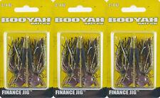 (LOT OF 3) BOOYAH FINANCE JIG BYFNJ3458 3/4OZ JUICE BM4404