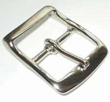 1.5 INCH  - 38MM NICKEL FULL BELT BUCKLE WITH RECESSED BAR