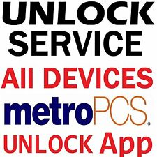 METROPCS USA LG ARISTO LEON STYLO G4 G5 K7 K10 DEVICE UNLOCK  APP SERVICE CODE