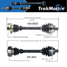 CV Axle Shaft fits 1993-2003 Volkswagen EuroVan  TRAKMOTIVE