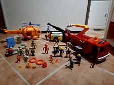 Feuerwehrmann Sam Set, Hubschrauber, Auto, Feuerwehrauto Jupiter
