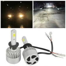 2pc H1 8000LM 80W Philips Cree LED Headlight Kit 6000K Bulbs Hi/Lo Power Lamps