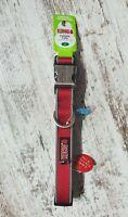 KONG Comfort&Reflective Dog Padded Collar,Red,L