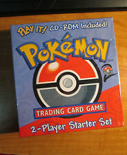 Sealed COMPLETE Pokemon 2 PLAYER STARTER Card Set THEME DECK Base Machamp 1st ed