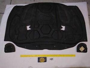 2007 - 2015 Jaguar XK Hood Bonnet Insulation Liner Panel 3 Pieces Genuine