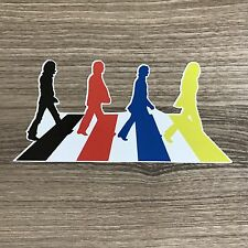 "The Beatles Abbey Road 5"" Wide Vinyl Sticker - BOGO"