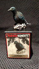 NEW Horrornaments Halloween CHRISTMAS TREE Ornaments Raven