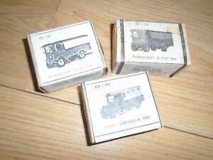 Collection of Unopened Vintage White Metal Vehicles for Hornby OO Gauge