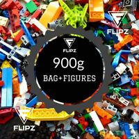 Genuine Lego Mixed 900g 1KG Bricks Parts Pieces Starter Set +2 Lego Figures