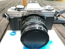 Konica Minolta XG-M 35mm SLR Film Camera with Lens