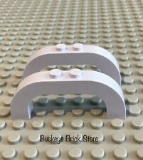 LEGO Two Light  Violet Brick, Arch 1x6x2 Curved Top 5870 5895