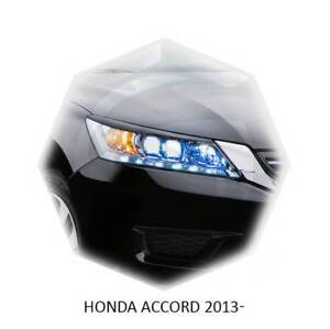 Eyebrows Eyelids Eyeline Honda Accord 2013-2015 4 Door Sedan Unpainted 2 pcs