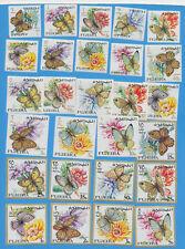 FUJEIRA - SG 167-193, MI 159-185 - Butterfly set complete VFMNH