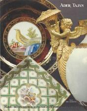 CATALOGUE VENTE Tajan FAIENCE PORCELAINE ANCIENNE MOUSTIERS SEVRES PARIS 1993