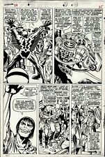 KIRBY, JACK / JOE SINNOTT - FANTASTIC FOUR #59 P 19 (EARLY INHUMANS!) 1966