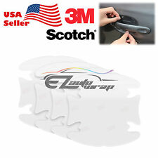 4PCs 3M Scotchguard Clear Door Handle Paint Scratch Protection Guard Film Bra